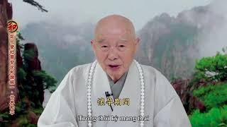 Do chưa đủ duyên tới Việt Nam nên Ngài thu hình để gửi tới toàn thể quý Phật tử ở Việt Nam THUYẾT MI