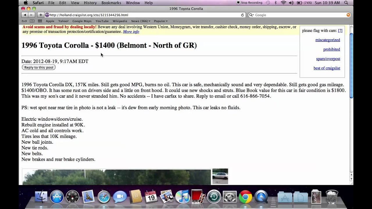 Craigslist Personals Suddenly Shut Down - Why