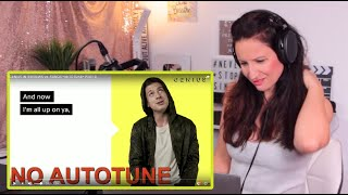 Vocal Coach Reacts-AUTOTUNE! *GENIUS INTERVIEWS vs. SONGS