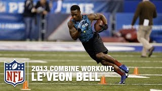 Le'Veon Bell 2013 Combine Workout Highlights   NFL