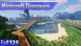 Park Tour   Minecraft Dinosaurs Ep# 125
