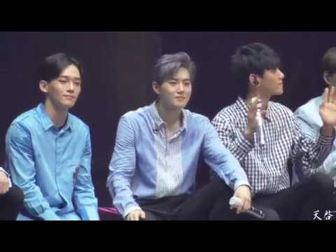 160722 Acoustic Medley + 유성우 LADY LUCK  FULL in EXO'rDIUM SUHO focus