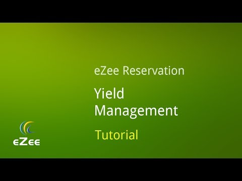 Yield Management in eZee Reservation, Online Hotel Booking Engine