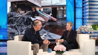 Ellen Meets Montecito Mudslide Hero Augie Johnson