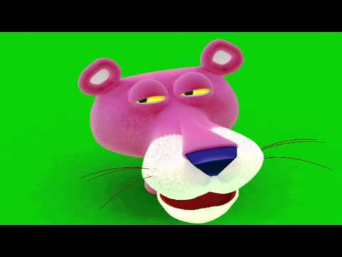 3D Max - Pantera Cor de Rosa - Pink Panther