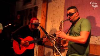 Nour Project - Sax in the taxi (live in el Cabina)