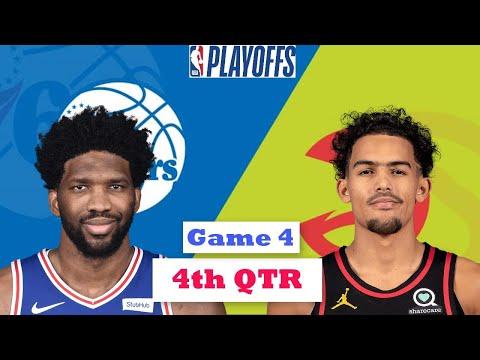 Philadelphia 76ers vs. Atlanta Hawks Full Highlights 4th Quarter Game 4   NBA Playoffs 2021