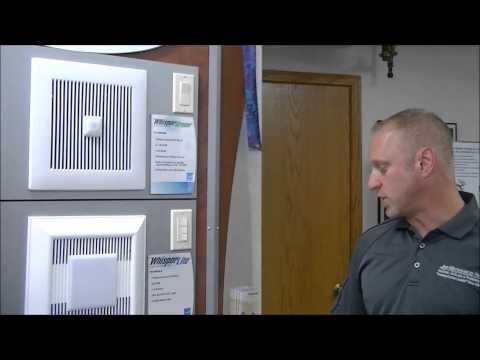 Air Mechanical Talks Bath Fans