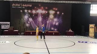 KIRCHKESZNER MÁTÉ BARTL ZSÓFIA  COUPLE DANCE SHOW   KID ROCK AND ROLL SE  B FÜRED 2019 04 13
