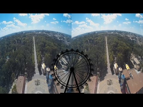 Ferris wheel 3D! Epochal 3D Video!