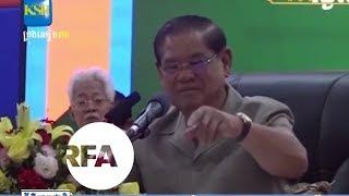 Cambodia Minister Admits Government Intervention in Opposition Leader's Case | Radio Free Asia (RFA)