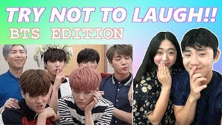 BTS Funny Moments 2019 Try Not To Laugh Challenge - Couple Reaction