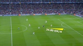 Fastest Sprints Speeds In Football