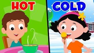 Opposites Song | Preschool Nursery Rhymes For Children