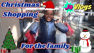 Niyah Goes Christmas Shopping For The Family | Vlogmas Day 6