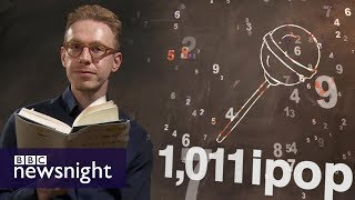 Autistic savant Daniel Tammet on 'the language of numbers' - BBC Newsnight