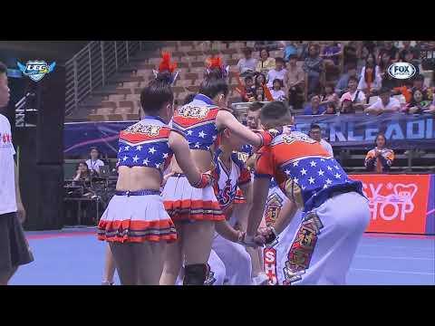 ᴴᴰ世新大學::公開男女混合團體組::107學年度大專校院啦啦隊錦標賽
