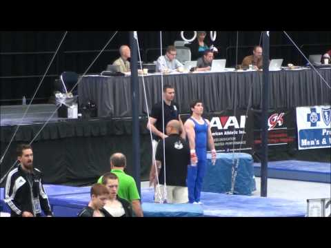 Josh Everitt - Gymnastics Recruitment Video 2013 - Smashpipe sports