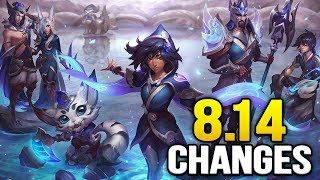 25 new changes coming soon in Patch 8.14 - Powered by Nvidia GTX 1080 - YouTube