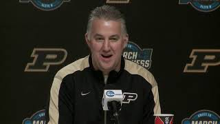 Purdue's FULL Elite Eight press conference