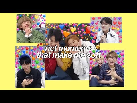 nct moments that make me soft