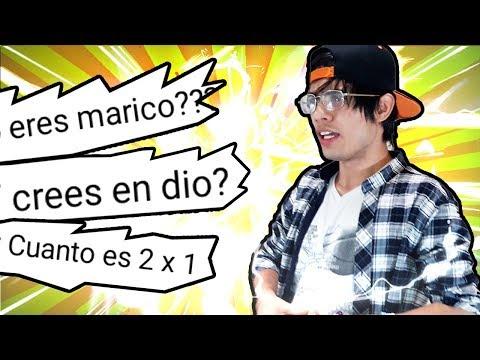 PREGUNTAS Y RESPUESTAS RANDOM - Frank Jr. Navarro #2