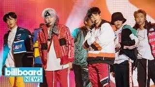 BTS Performs, Pulls Prank on 'Jimmy Kimmel Live!' | Billboard News
