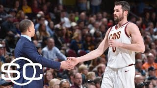 Stephen A. Smith says Kevin Love's injury bad for Cavs, but 'heaven' for Love | SportsCenter | ESPN