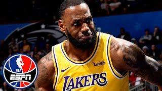 LeBron James, Lakers struggle in loss vs. Magic | NBA Highlights