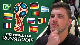 PREDICTING THE ENTIRE 2018 FIFA WORLD CUP!!!