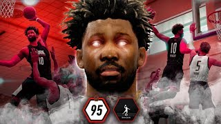 95 MAXED DUNK RATING IN DRAFT COMBINE! NBA Live 19 Career Gameplay Ep. 2