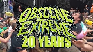 Full Documentary: 20 YEARS OBSCENE EXTREME FESTIVAL ANNIVERSARY