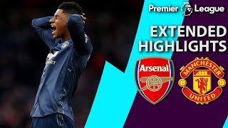 Arsenal v. Manchester United | PREMIER LEAGUE EXTENDED HIGHLIGHTS | 3/10/19 | NBC Sports