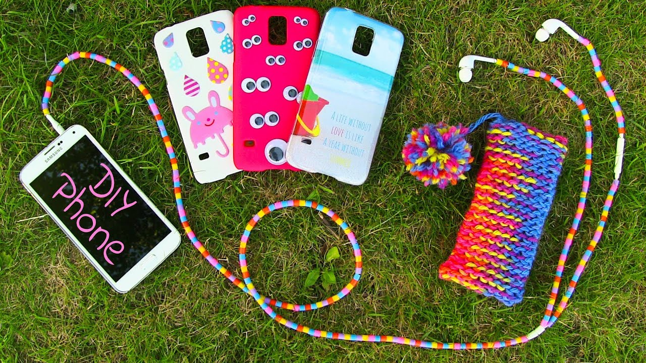 Diy 10 Easy Phone Projects Diy Phone Case Pouch Amp More