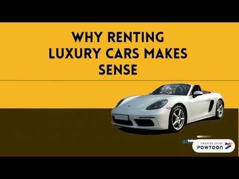 Why Renting Luxury Cars Makes Sense- Dubai Luxury Cars