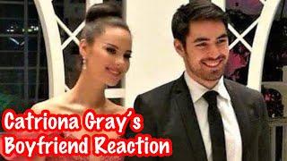 Catriona Gray's Boyfriend Clint Bondad Reaction to her Winning Moment! | Miss Universe 2018