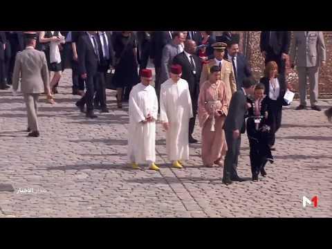 الأميرة للا مريم تحضر مراسيم تأبين سيمون فاي