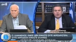 Ο ΠΑΝΟΣ ΚΑΜΜΕΝΟΣ ΣΤΟΝ ANT1