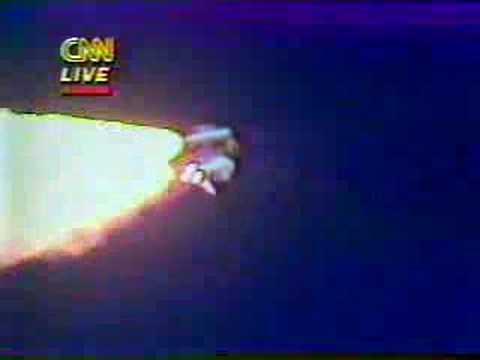 28.01.1986 - Challenger Disaster Live on CNN