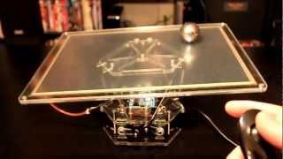 Металлический шар на платформе с ПИД-регулятором