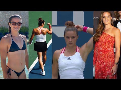 Maria Sakkari - Athletic Tennis Girl from Greece