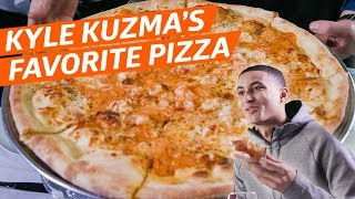 Eater x NBA: Lobster Pizza Is Laker Kyle Kuzma's Comfort Food of Choice