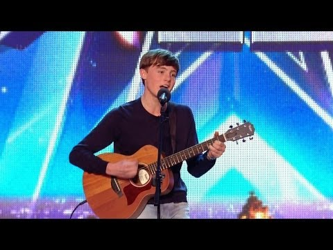 Britain's Got Talent S08E02 James Smith has a new take on