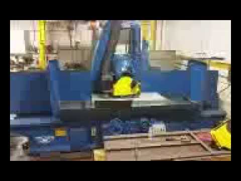 "Mattison Surface Grinder 30"" in Action"