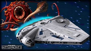 Star Wars Battlefront 2 What's WRONG with the KESSEL RUN - Funny Gameplay Moments