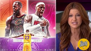 FULL The Jump | Rachel Nichols: 'LeBron-unstoppable', LA Lakers BEAT Nuggets in 4, get the 4th ring