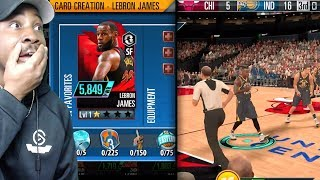 NBA 2K MOBILE GAMEPLAY! CARD CREATION, DIAMOND PLAYERS, EQUPPING SHOES, SEASON MODE & MORE! Ep. 2