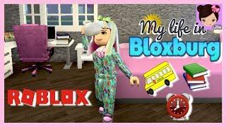 Bloxburg School Morning Routine - Roblox High School Roleplay - Titi Games