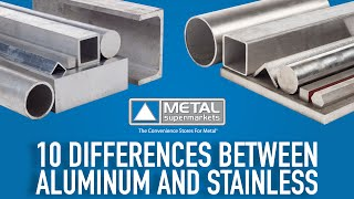 10 Differences Between Aluminum and Stainless Steel