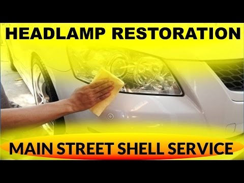 Complete Headlight Restore in Santa Maria- Headlight Restoration Service